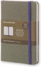 , Moleskine Blend Limited Collection Pocket (9x14 cm) Gelinieerd Groen