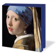 Wmc595 , Notecard pak 10 stuks 15x15 cm johannes vermeer