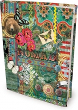 , Boekenkaft dresz rekbaar nomad