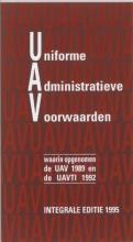 Uniforme Administratieve Voorwaarden integrale editie 1995