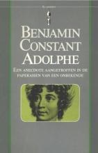 Benjamin Constant , Adolphe