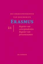 Desiderius Erasmus , De correspondentie van Desiderius Erasmus 21