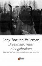 L. Boeken-Velleman , Breekbaar, maar niet gebroken