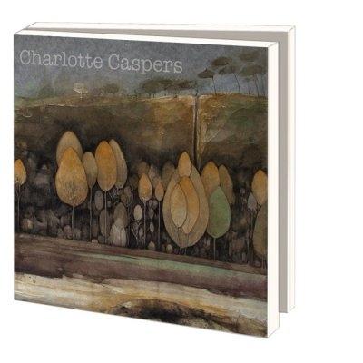 Mwc902,Notecards 10 stuks 15x15 bos charlotte caspers