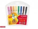 , Viltstift STABILO Scribbi 368 etui à 8 kleuren