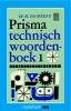 , H.  Damerau, Prisma technisch woordenboek 1