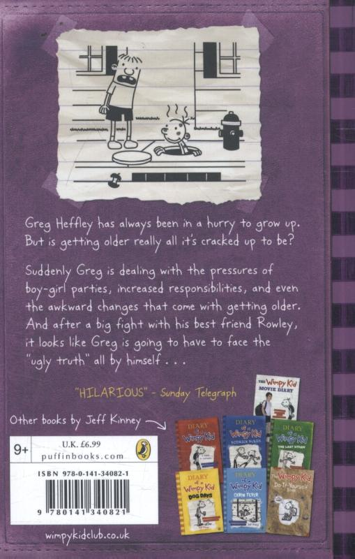 Kinney, Jeff,Diary of a Wimpy Kid: The Ugly Truth