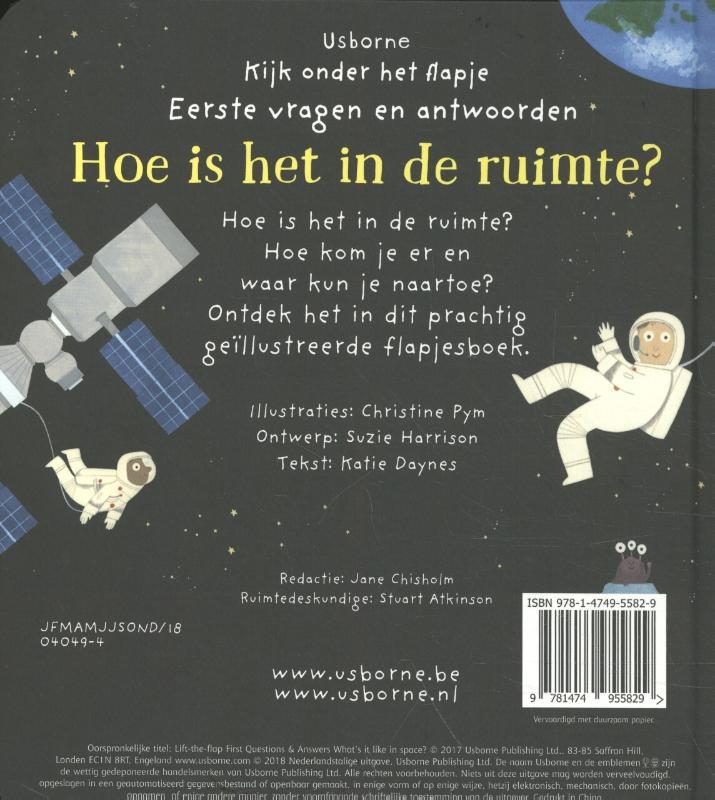 ,Hoe is het in de ruimte ?