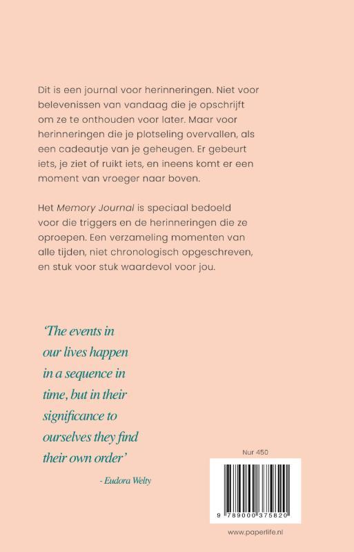 Gemma Broekhuis,Memory Journal
