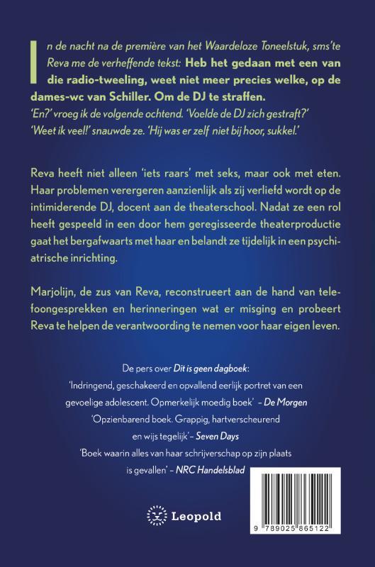 Erna Sassen,Kom niet dichterbij