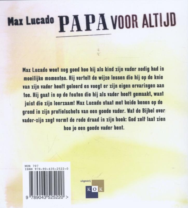 Max Lucado,Papa voor altijd