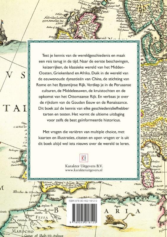 Meredith MacArdle,Het wereldgeschiedenis-quizboek