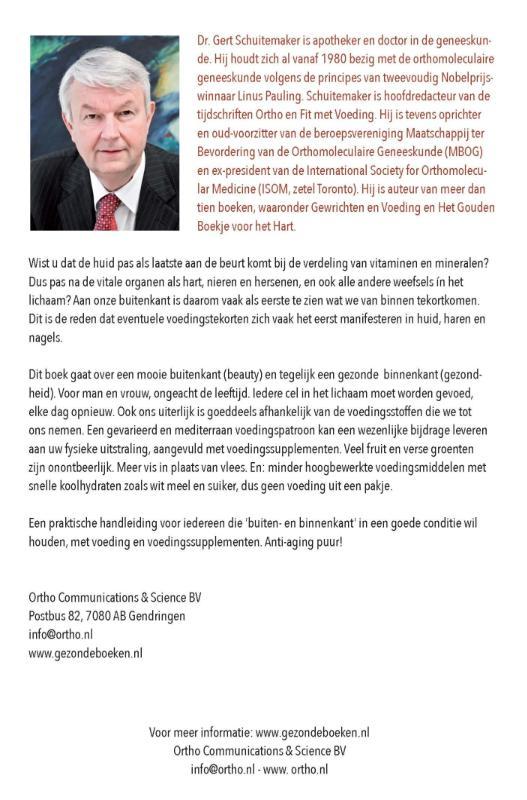 Gert E. Schuitemaker,Recept voor anti-aging