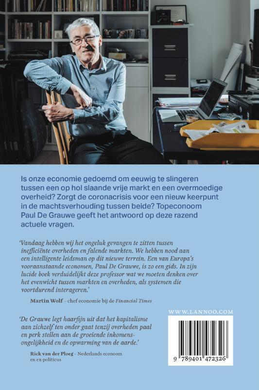 Paul De Grauwe,De limieten van de markt