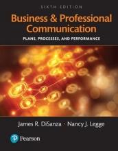 Disanza, James R.,   Legge, Nancy J. Business and Professional Communication