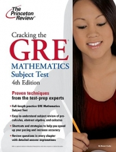 Princeton Review Cracking the GRE Mathematics Subject Test