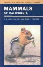 E. W. Jameson,   Hans J. Peeters,   Bruce M. Pavlik Mammals of California