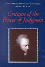 Kant, Immanuel Critique of the Power of Judgment