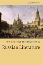 Emerson, Caryl Cambridge Introduction to Russian Literature
