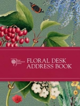 Royal Horticultural Society RHS Floral Desk Address Book
