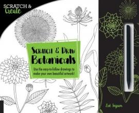 Ingram, Zoe Scratch & Create: Scratch and Draw Botanicals