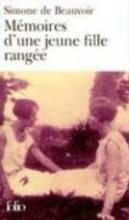 Beauvoir, Simone de Mémoires d`une jeune fille rangée