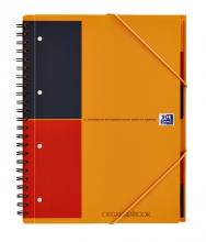 , Spiraalblok Oxford International Organiserbook A4+ lijn
