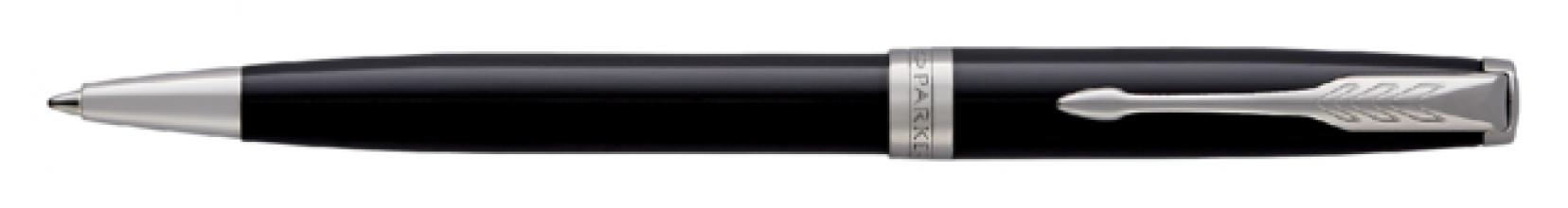 , Balpen Parker Sonnet black lacquer CT M