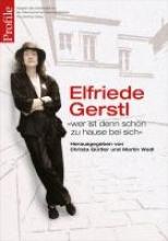 Gerstl, Elfriede Elfriede Gerstl