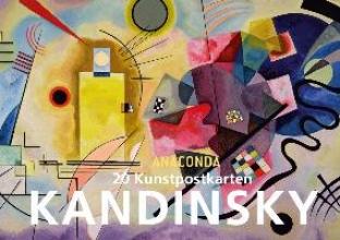 Kandinsky, Wassily 20 Kunstpostkarten Kandinsky
