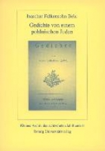Behr, Isaschar F. Gedichte von einem pohlnischen Juden