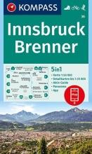 , Innsbruck, Brenner 1:50 000