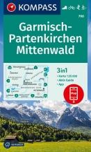 , Kompass WK790 Garmisch Partenkirchen