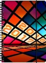 BRUNNEN Schülerkalender/Schüler-Tagebuch 2016/17 Geometrics Retro