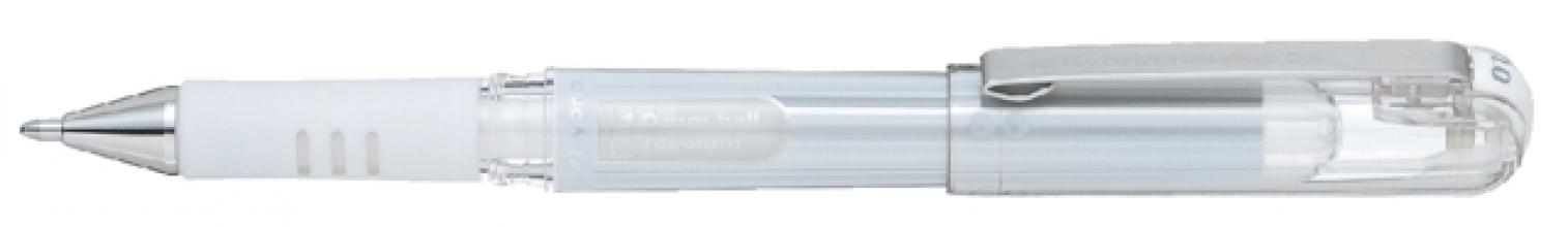 , Gelschrijver Pentel K230M wit 0.4mm