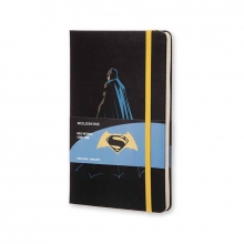 , Moleskine LE Notitieboek Batman notebook Large (13x21 cm) Gelinieerd Zwart
