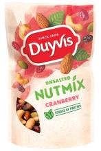 , Noten Duyvis ongezouten mix cranberry 125gr