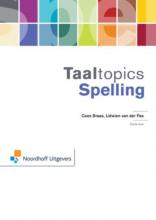 Cees  Braas, Lidwien van der Pas Taaltopics Spelling