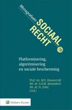 , Platformisering, algoritmisering en sociale bescherming