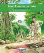 Peter Vervloed Rood kleurde de rivier Indonesie