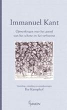 Immanuel Kant , Opmerkingen over het gevoel van het schone en het verhevene