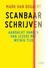Mark  Van Bogaert Scanbaar schrijven