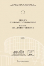 , Reports of judgments and decisions - Recueil des arrets et decisions 2013-I