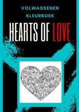 Emmy Sinclaire , Volwassenen kleurboek : Hearts Of Love