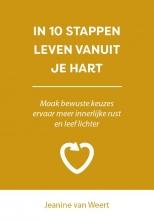 Jeanine van Weert , In 10 stappen leven vanuit je hart
