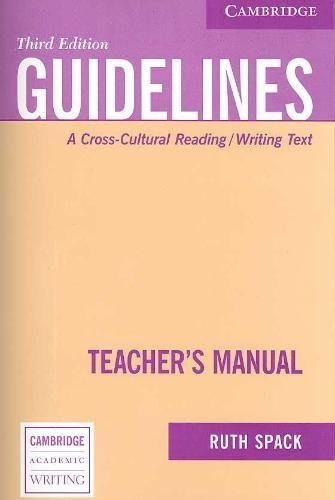 Ruth Spack,Guidelines Teacher`s Manual