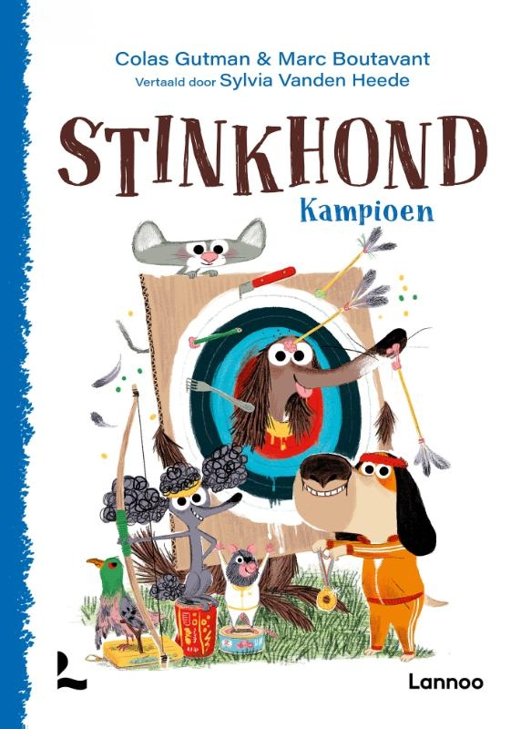 Colas Gutman,Stinkhond Kampioen!