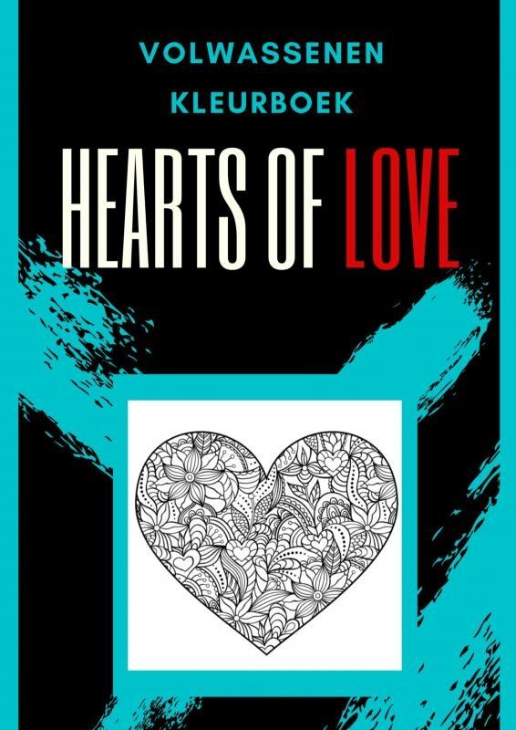 Emmy Sinclaire,Volwassenen kleurboek : Hearts Of Love