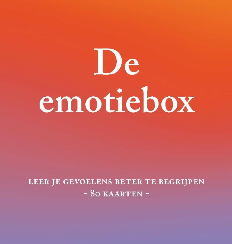 Tiffany Watt Smith,De emotiebox