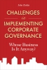 Zinkin, John,Challenges in Implementing Corporate Governance